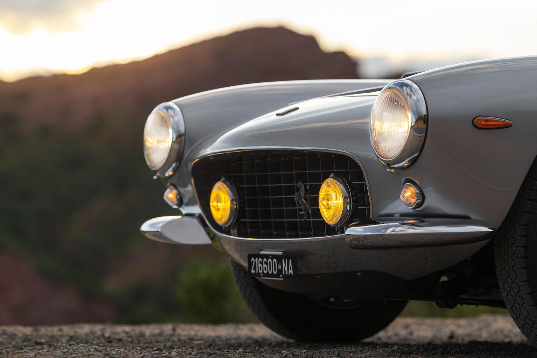 1962 Ferrari 250 GT SWB Berlinetta nose