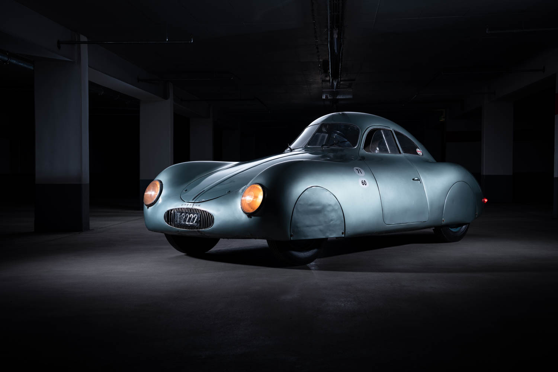 1939 Porsche Type 64 front 3/4