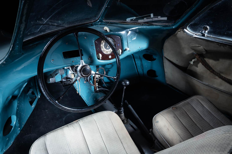 1939 Porsche Type 64 interior