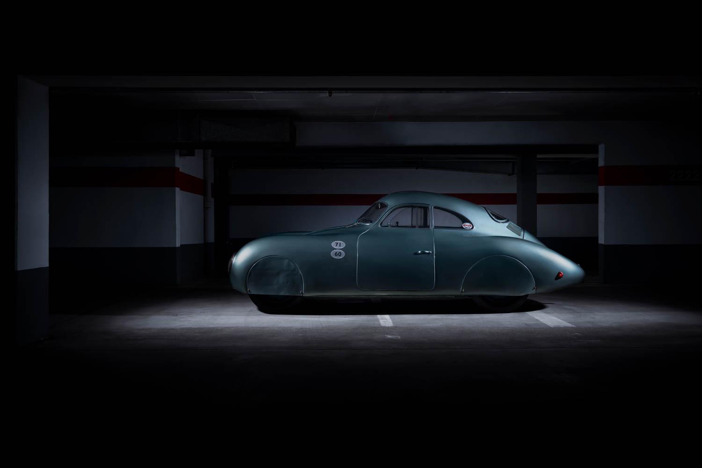 1939 Porsche Type 64 profile