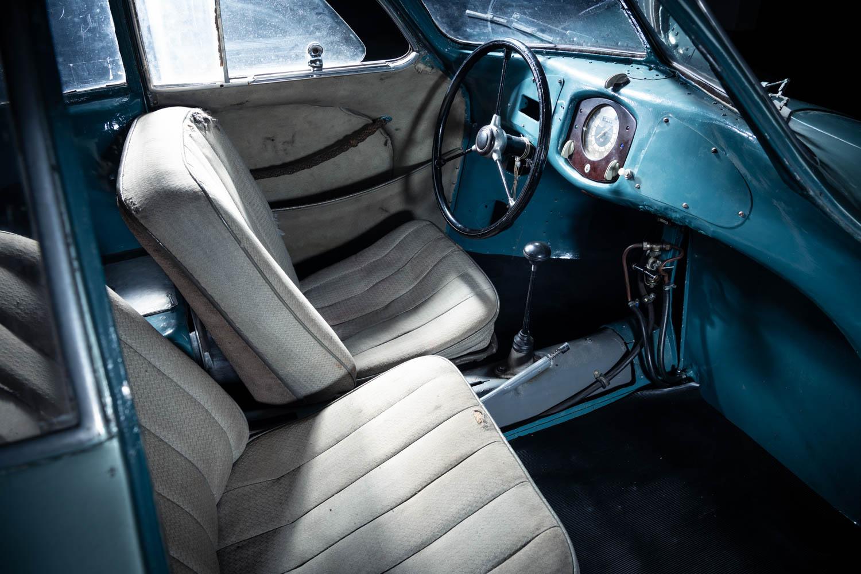 1939 Porsche Type 64 seat detail