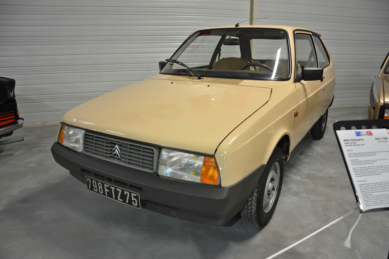 1986 Citroën Axel front 3/4