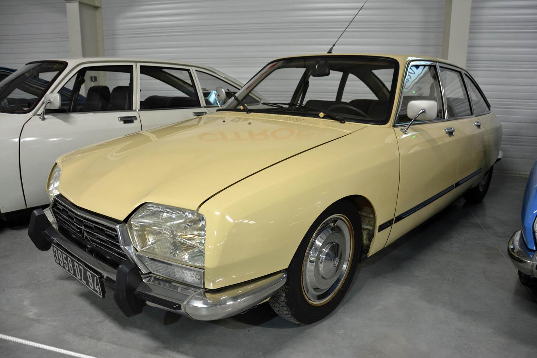 Citroën GS front 3/4