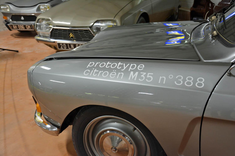 1970 Citroën M35 prototype paint
