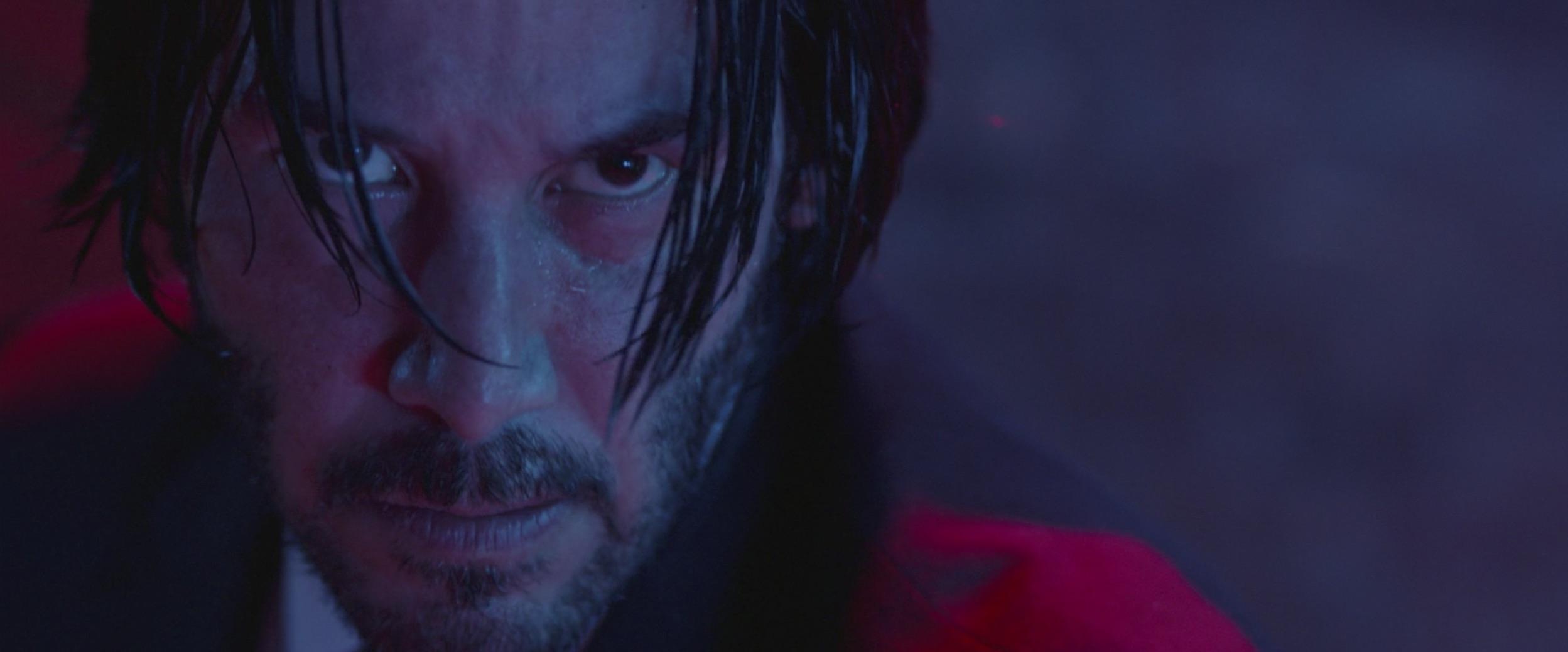 Keanu Reeves close up