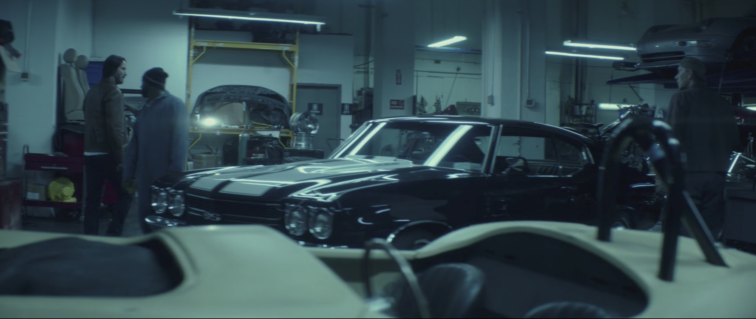 Chevelle in the shop