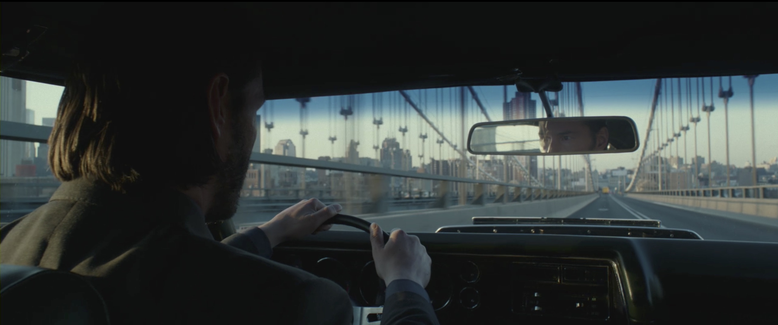 John Wick driving