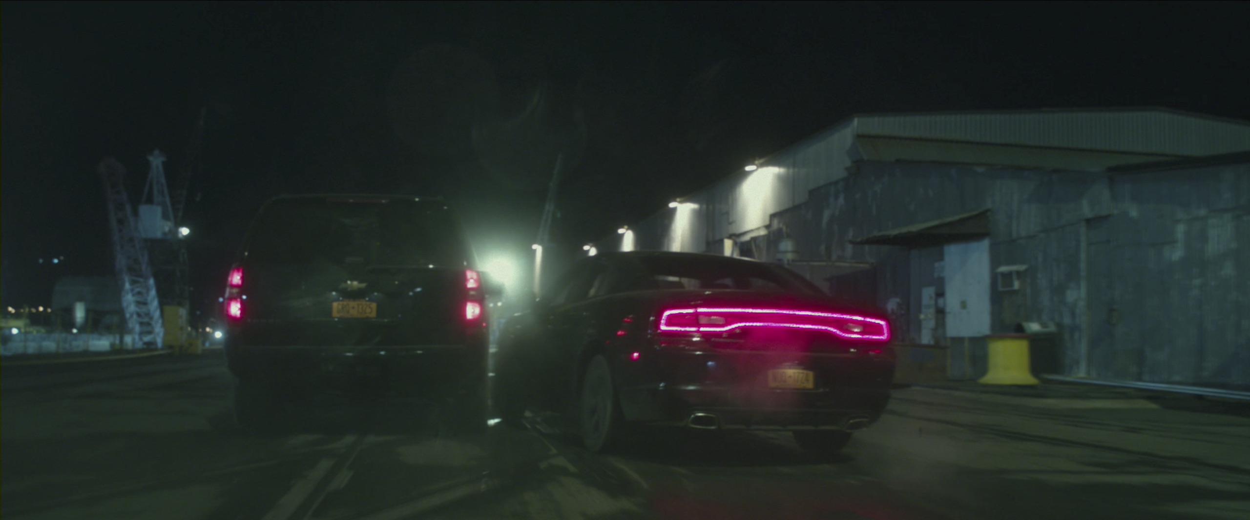 Dodge Charger car chase