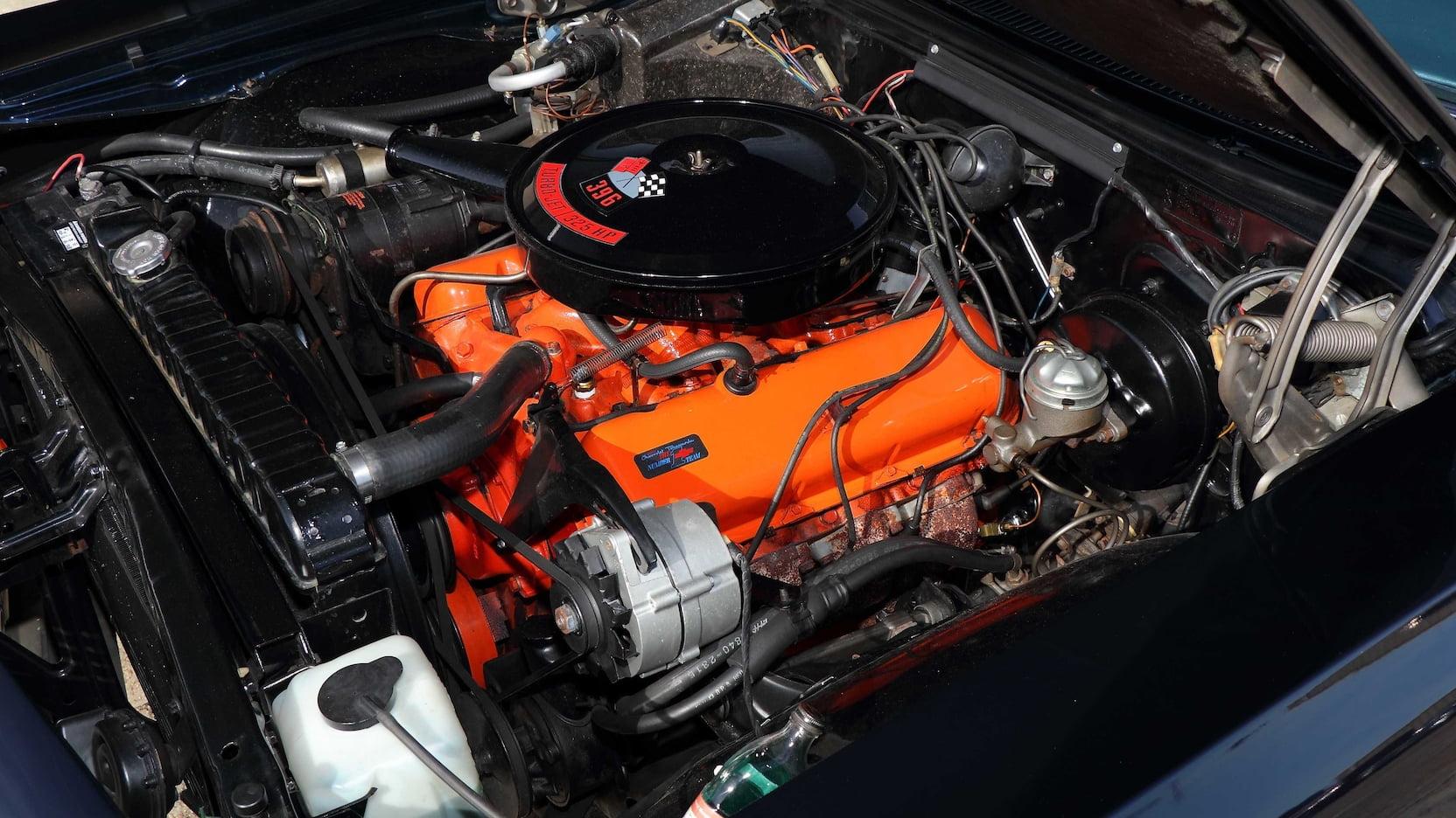 1966 Chevrolet Caprice engine