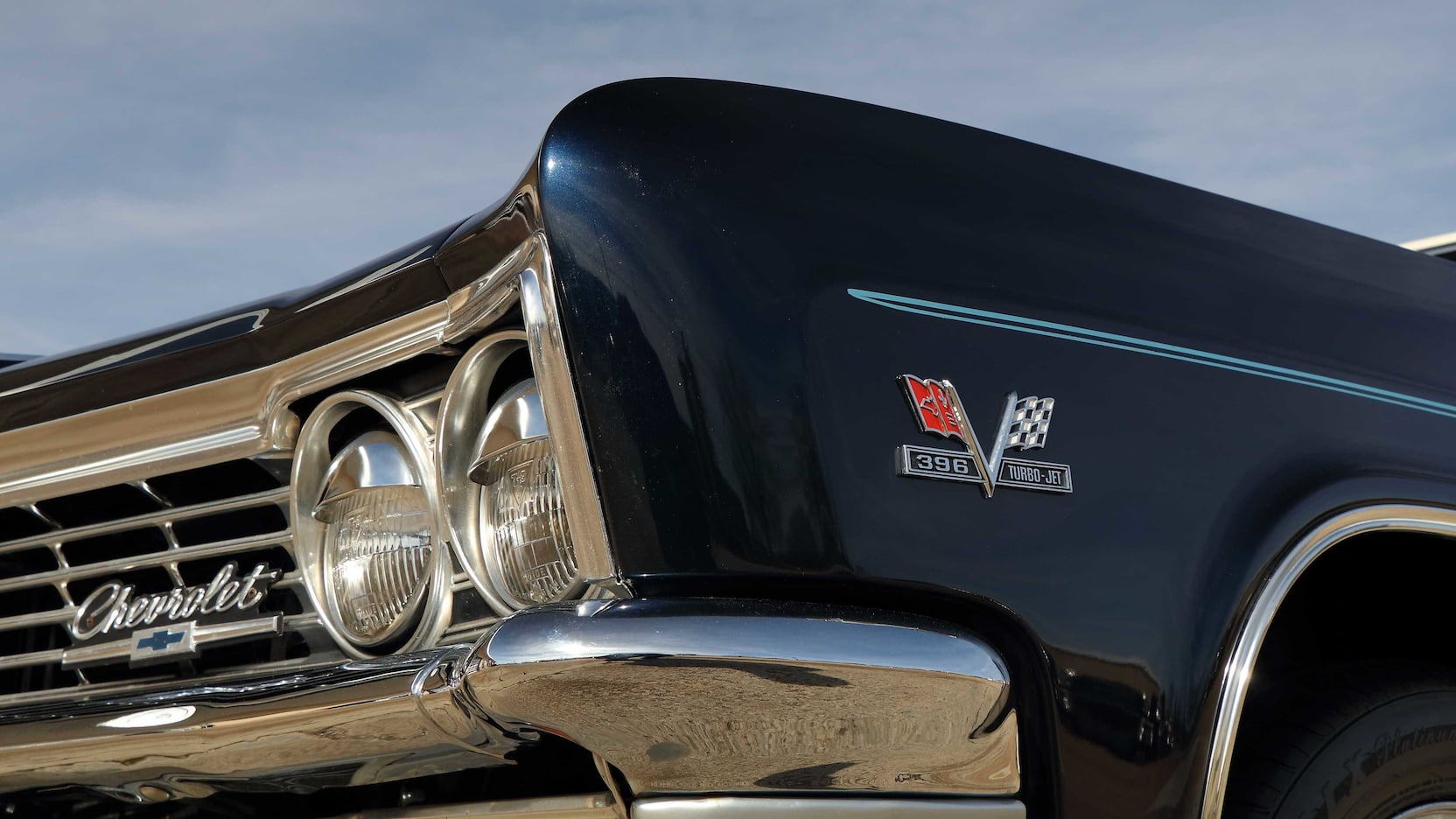 1966 Chevrolet Caprice detail