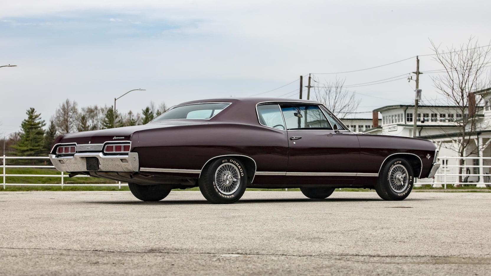 1967 Chevrolet Caprice side