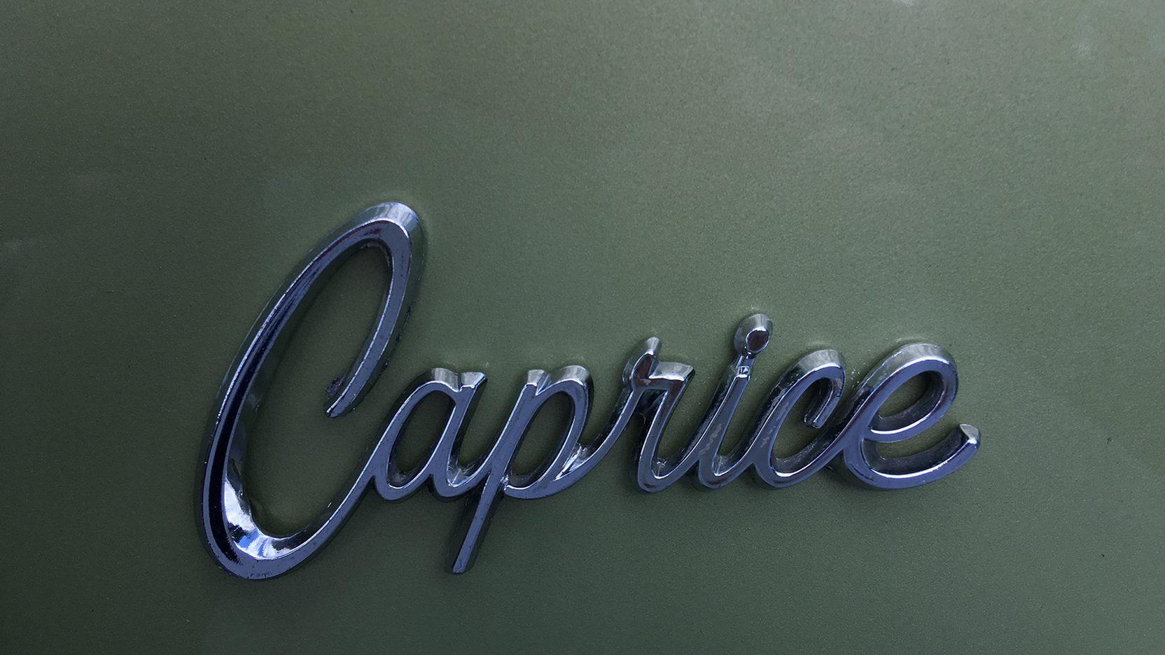 1968 Chevrolet Caprice badge