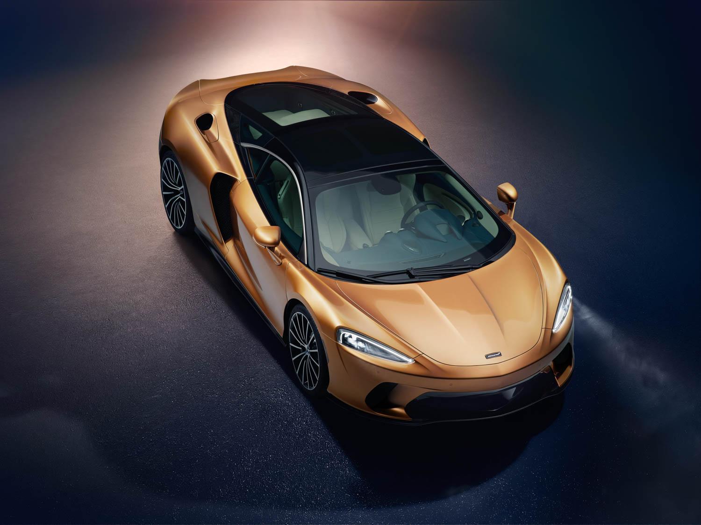 McLaren GT overhead