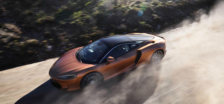 McLaren GT driving