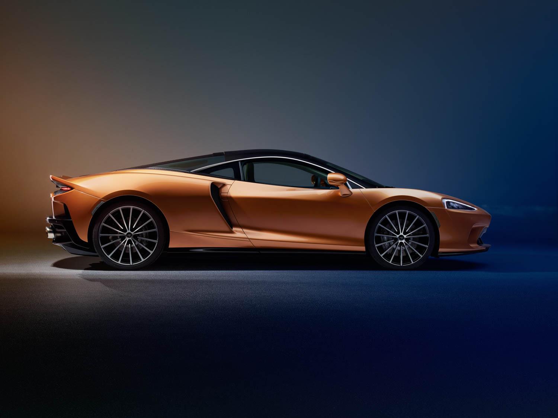 McLaren GT profile