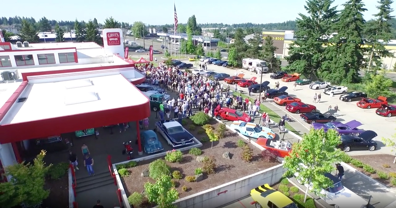 Griot's Garage car show