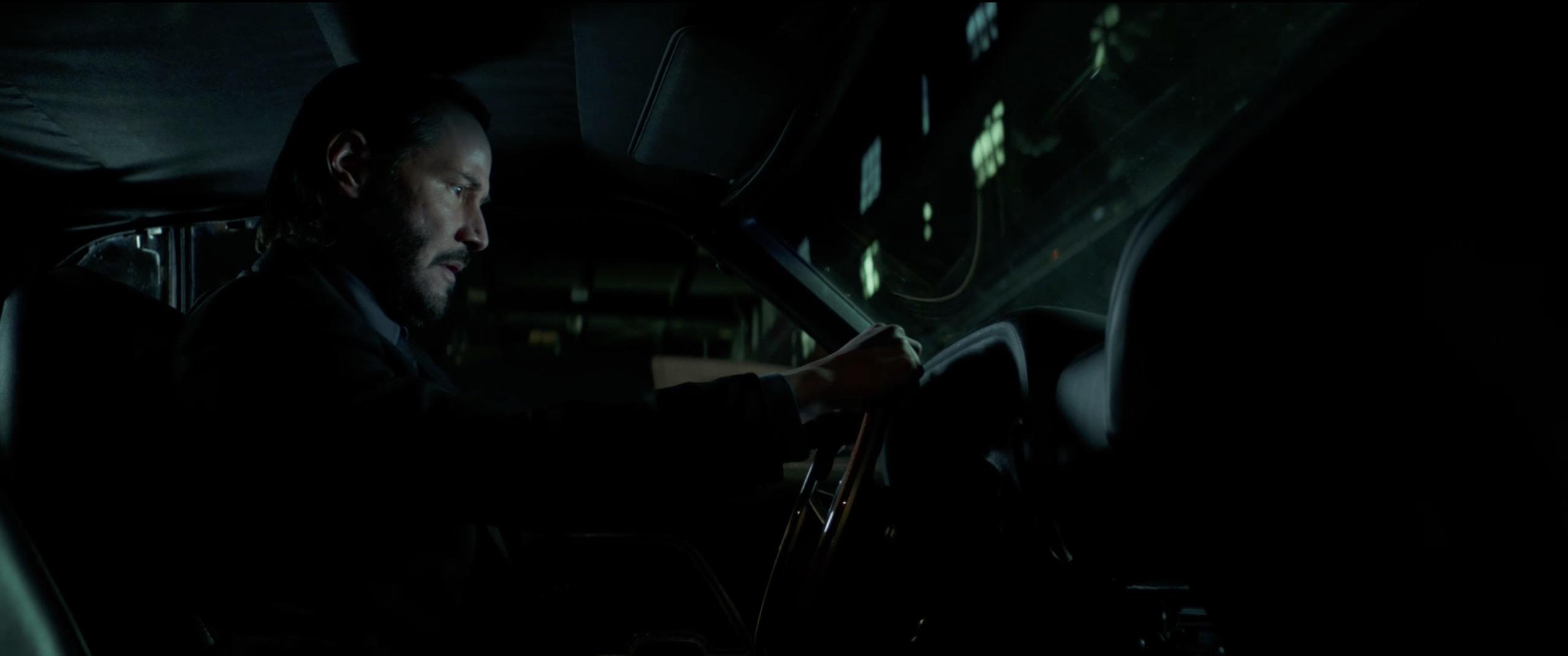 John Wick: Chapter 2 driving
