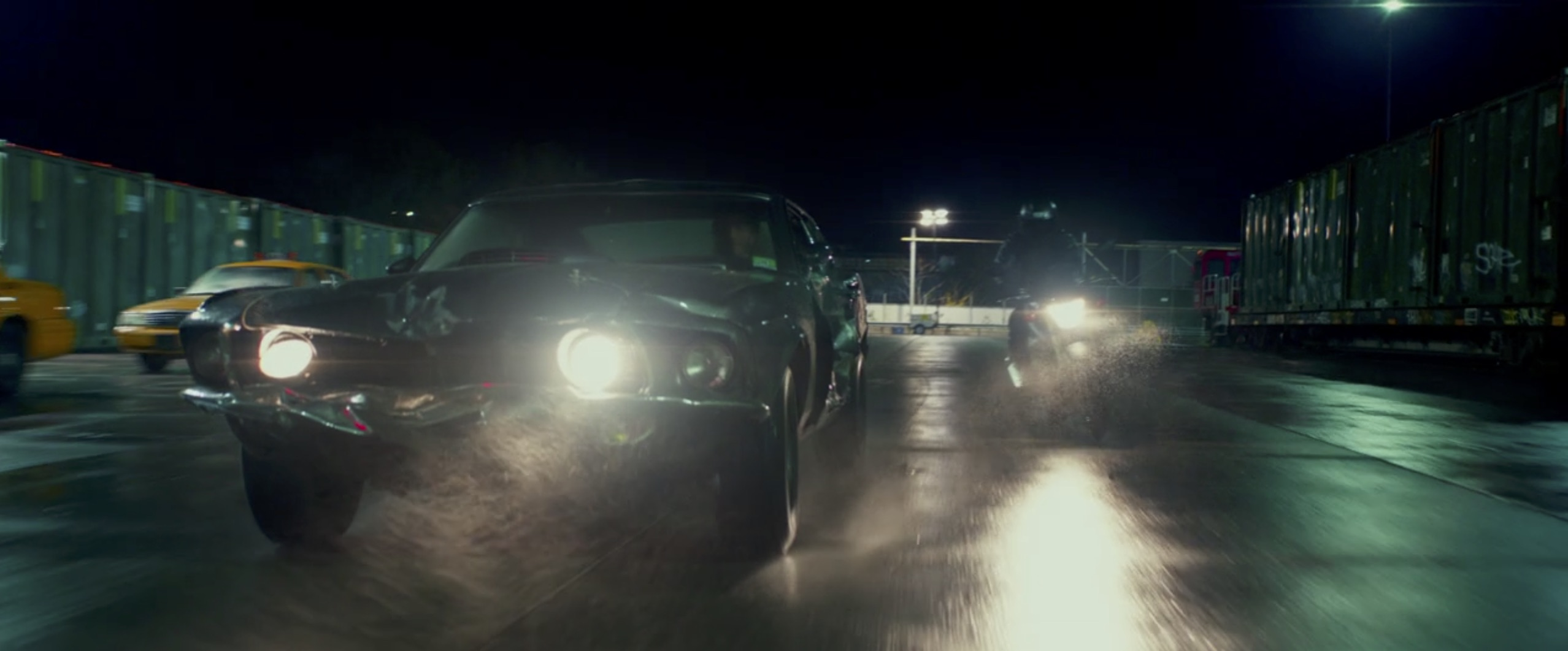 John Wick: Chapter 2 car chase