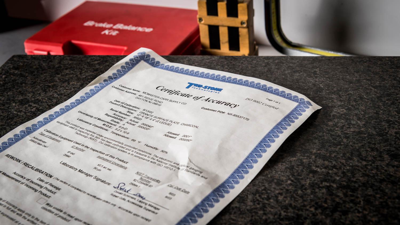 McLaren US Service Center sheet