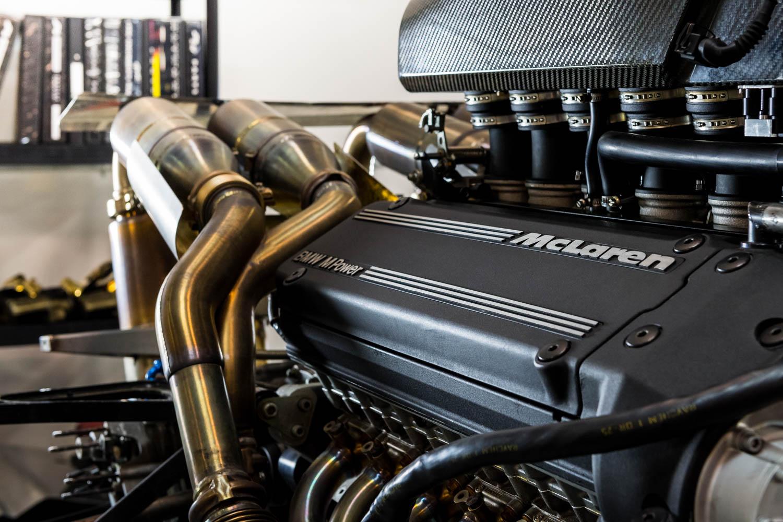 McLaren engine detail