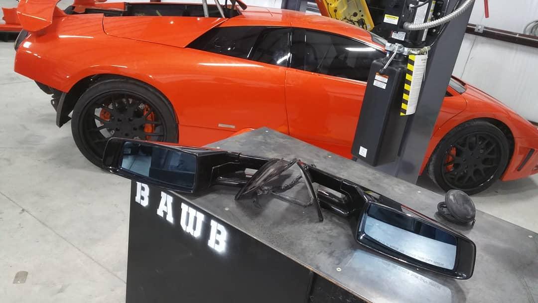 Lamborghini Murcielago in the shop