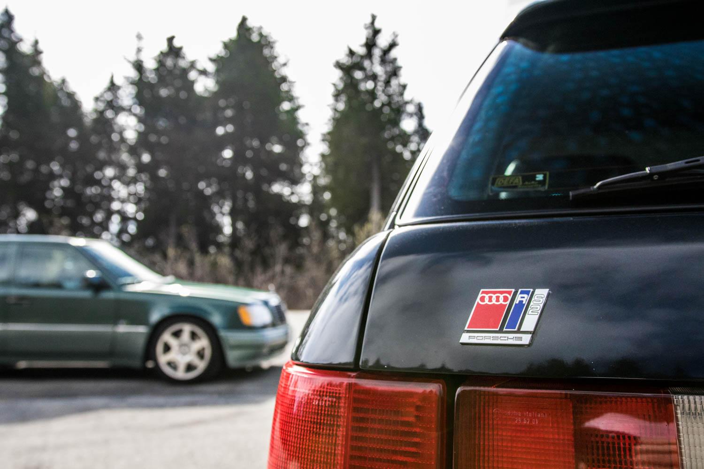 Audi RS2 rear badge