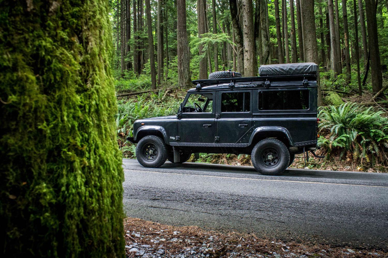 Land Rover Defender 110 TD5 Brendan McAleer