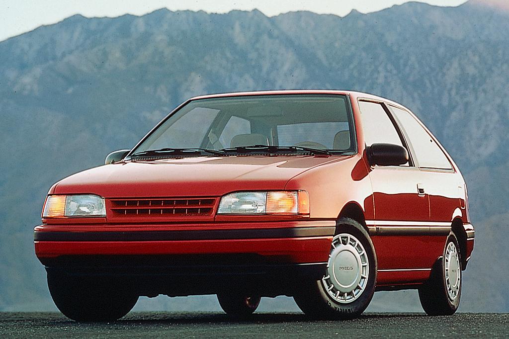 1990 Mitsubishi Precis