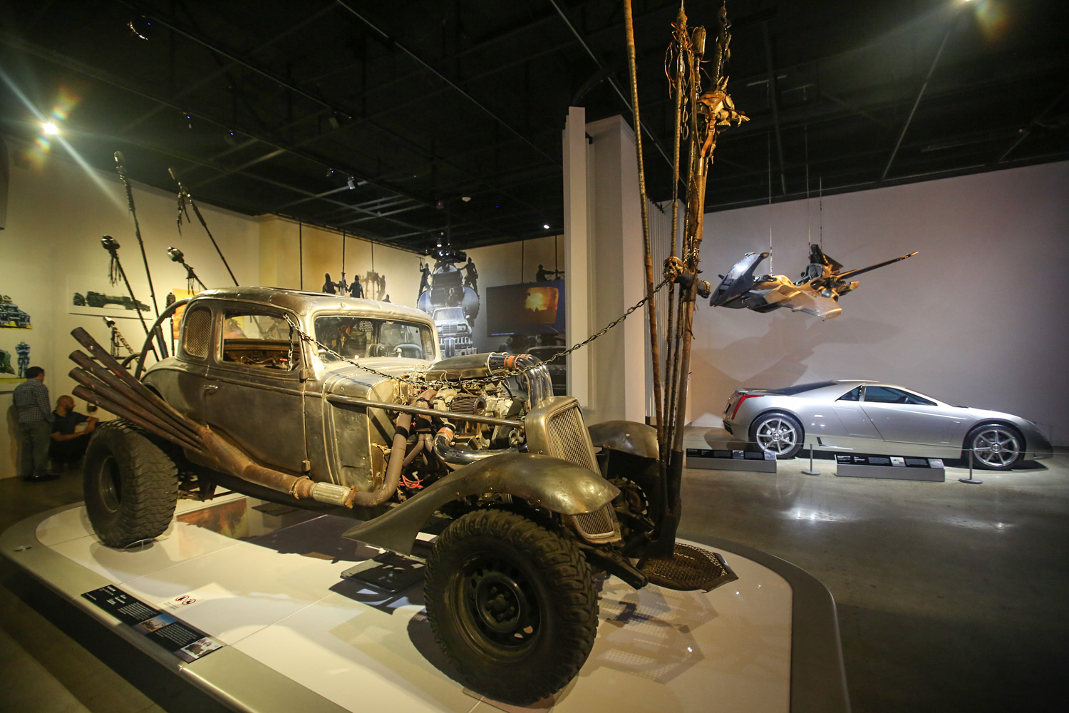 Mad Max Hollywood Dream Machines: Vehicles of Science Fiction and Fantasy Petersen Automotive Museum