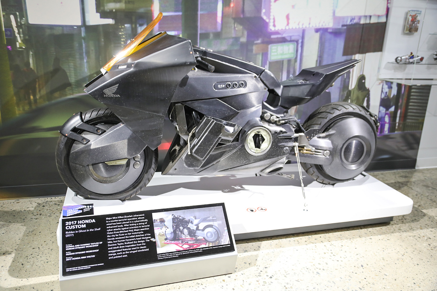 Hollywood Dream Machines movie motorcycle