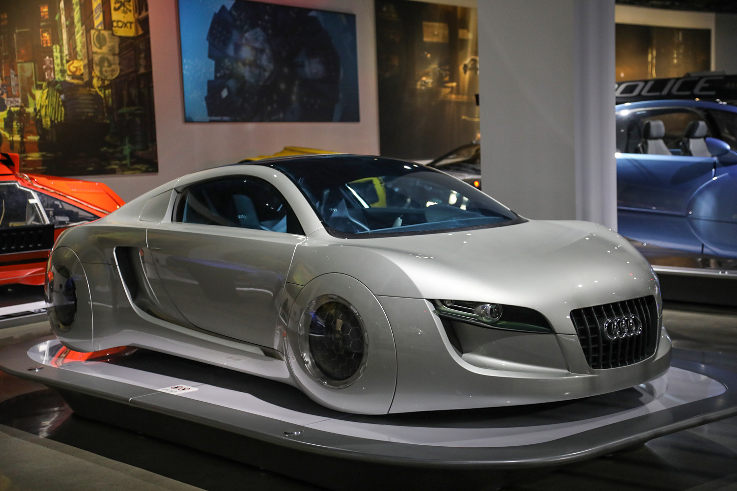 Hollywood Dream Machines: Vehicles of Science Fiction and Fantasy Petersen Automotive Museum audi