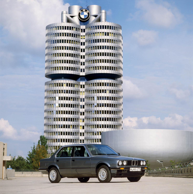 BMW E30 head quarters