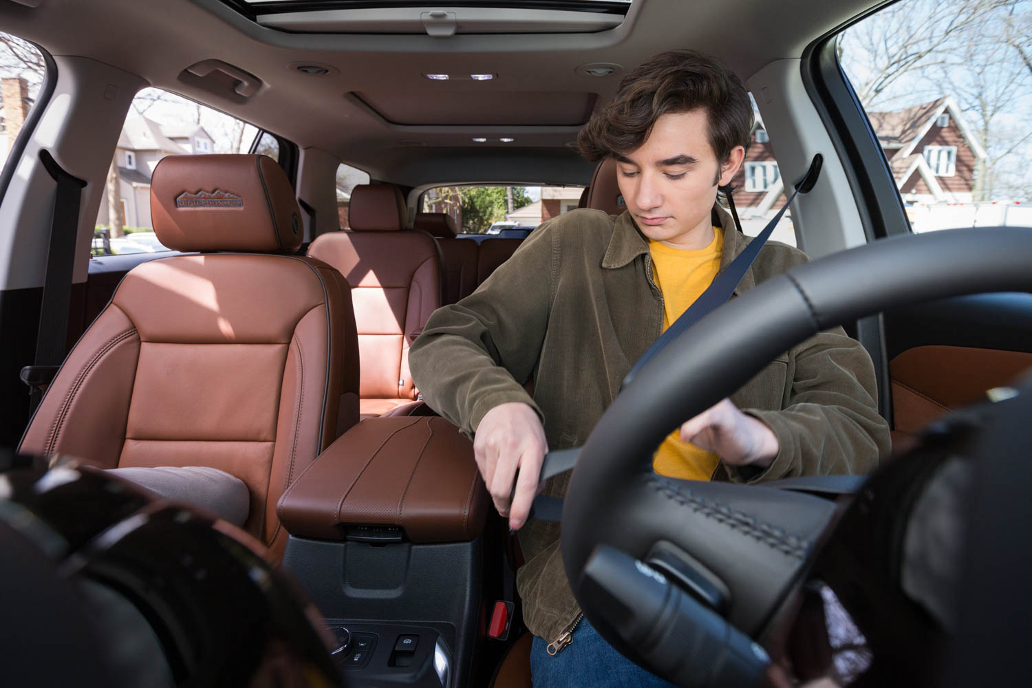 GM Teen Driver system