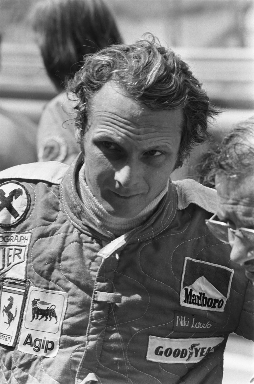 Niki Lauda in 1975