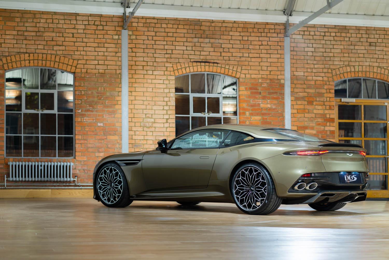 Aston Martin DBS Superleggara rear 3/4
