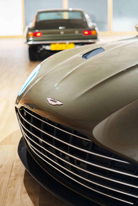 Aston Martin On Her Majesty's Secret Service edition DBS Superleggara nose