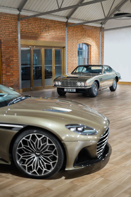 Aston Martin On Her Majesty's Secret Service edition DBS Superleggara