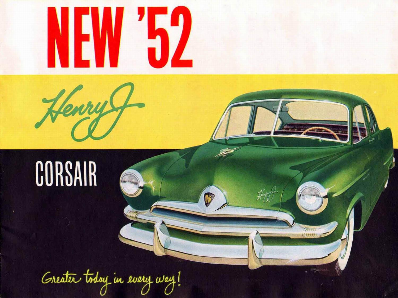 1952 Henry J Corsair ad