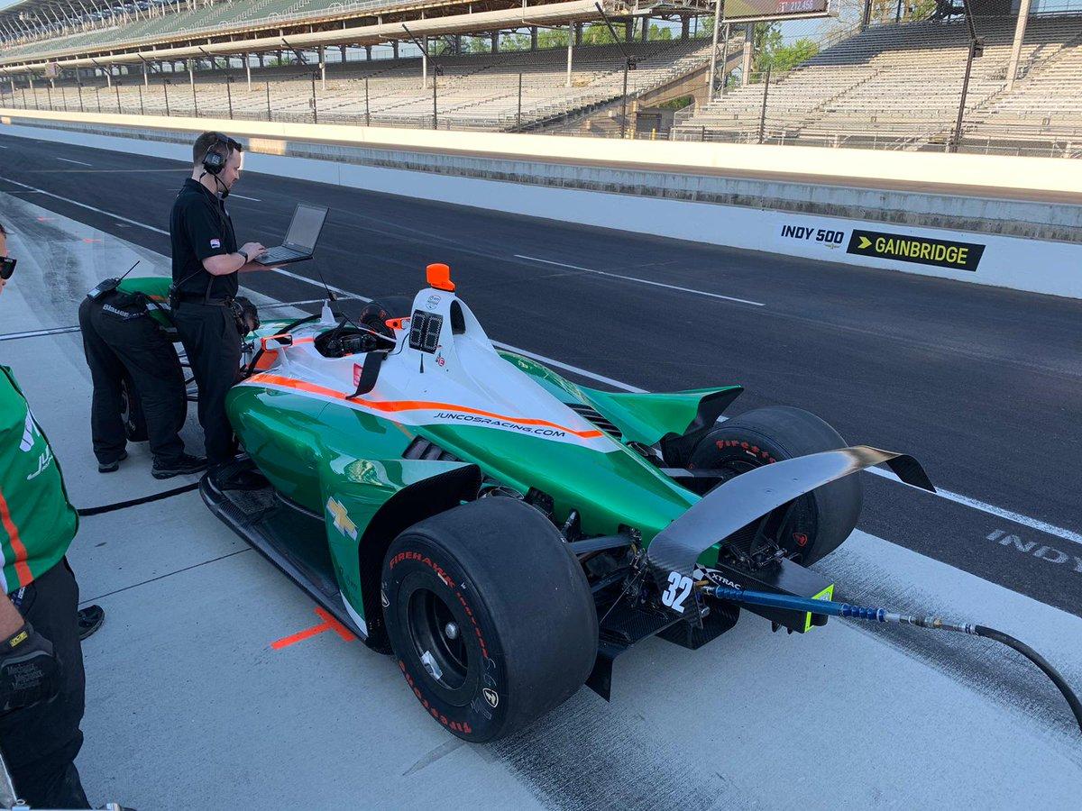 Indy 500 race car