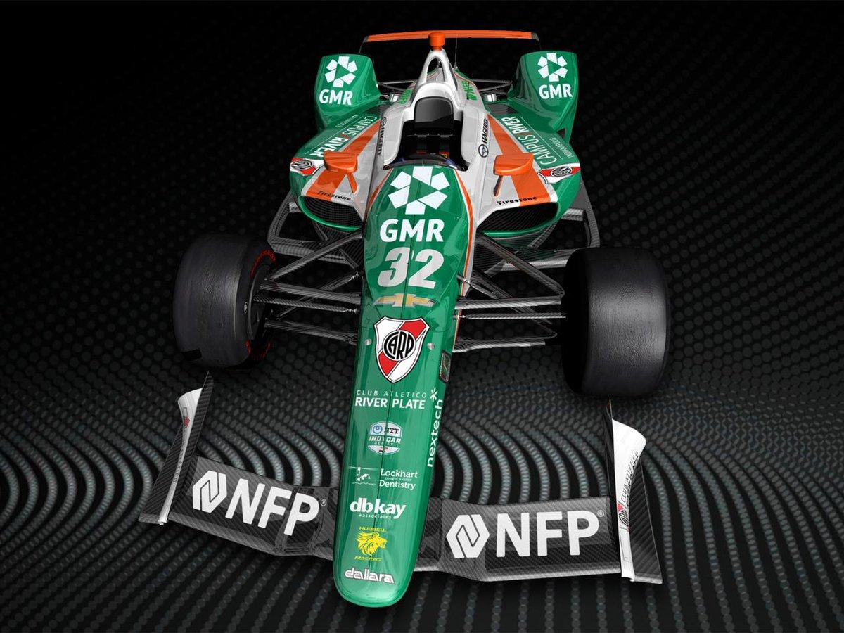 Juncos Racing Indy500 race car