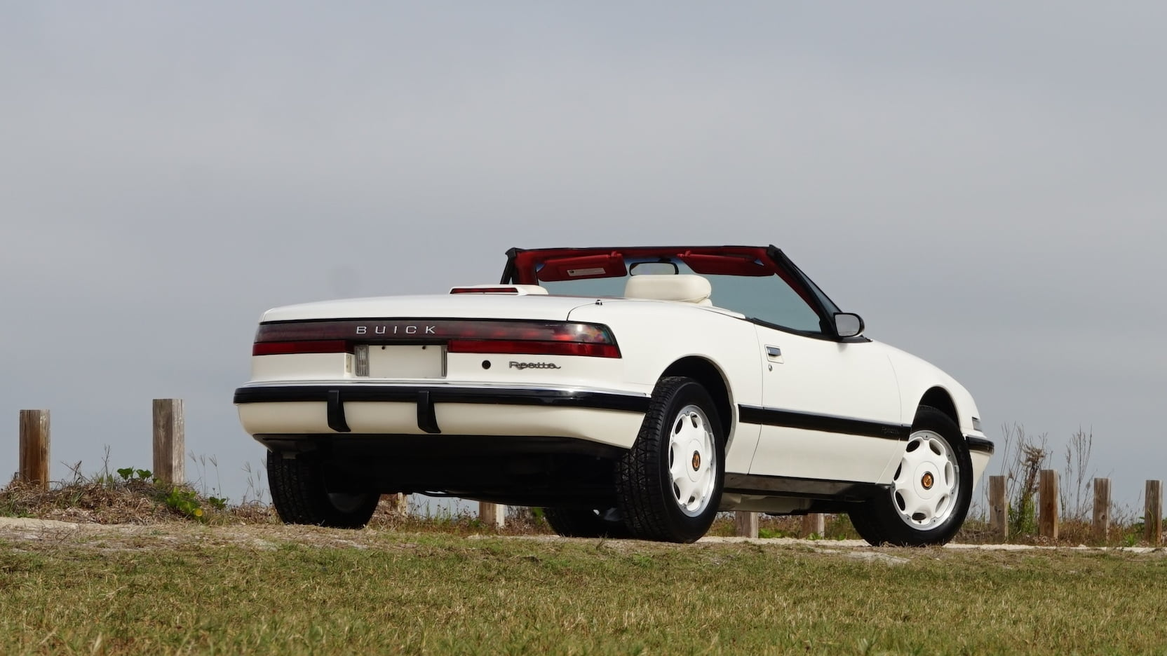 1990 Buick Reatta rear 3/4