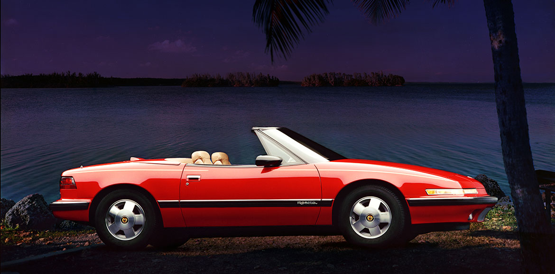 1990 Buick Reatta profile
