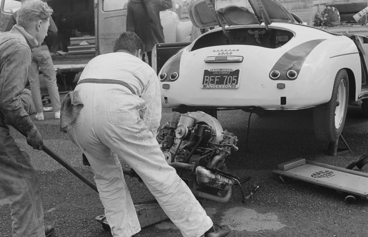 There were a dozen ways to make an E-Production Porsche a rocket ship. One of them involved having to drive the car in reverse when it was off-track.