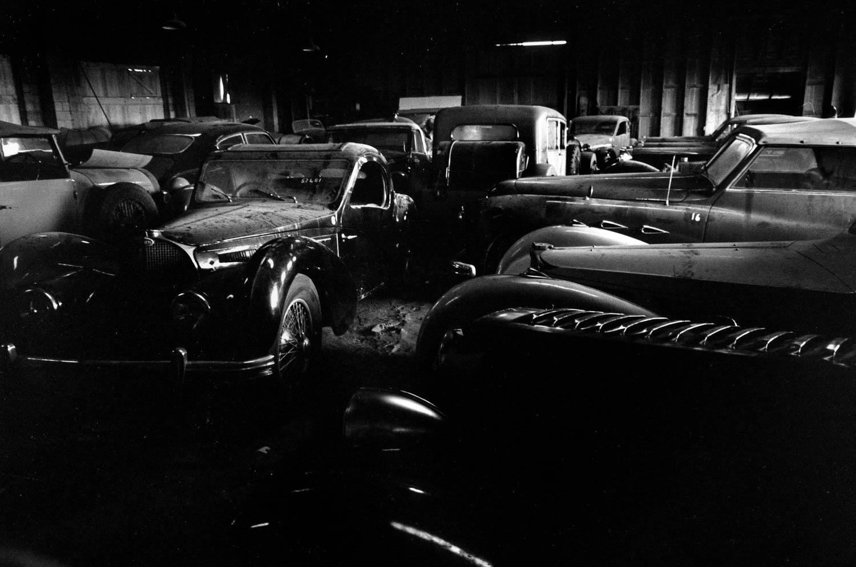 collection of Bugattis