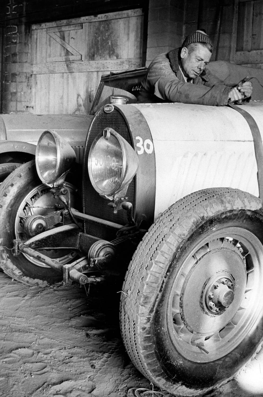 Bugatti race car