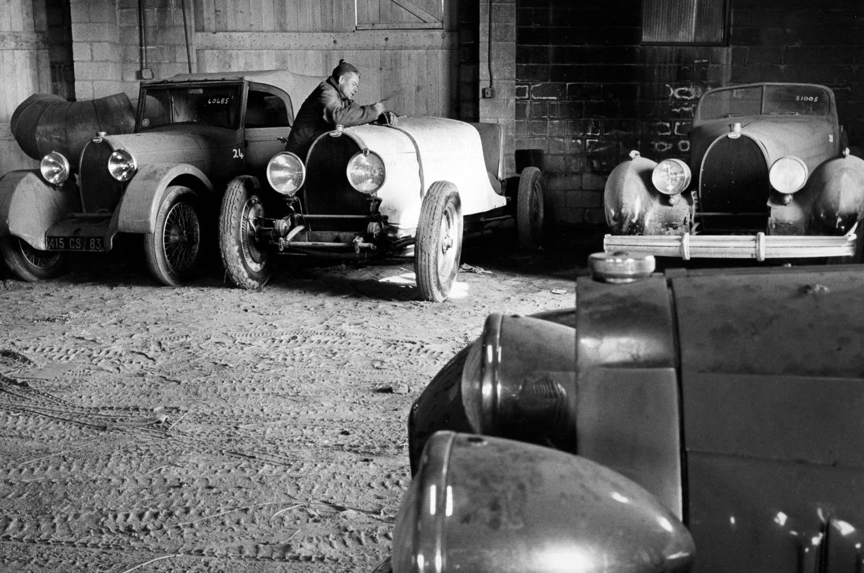 Bugatti barn