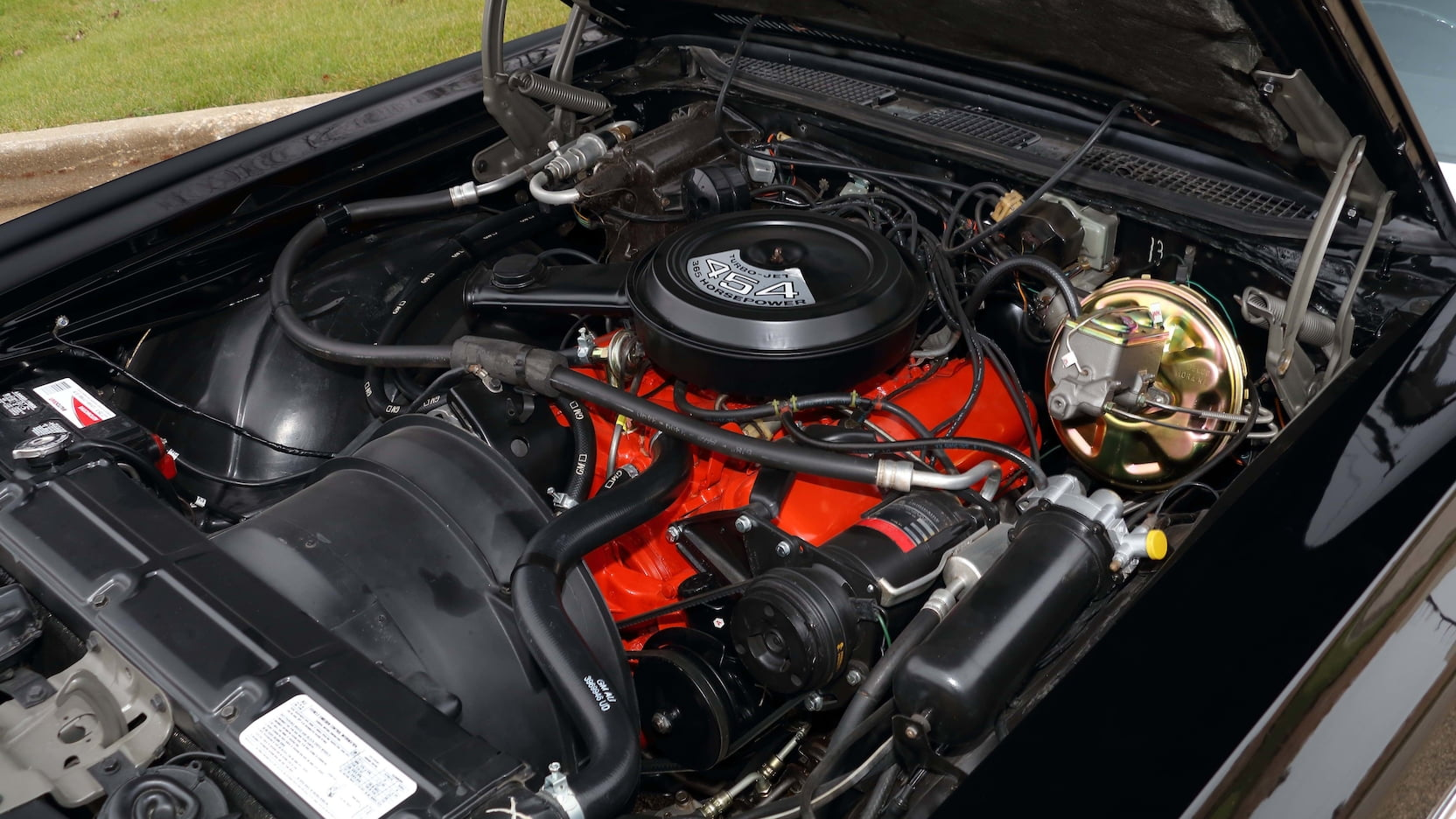 1971 Monte Carlo SS 454 engine