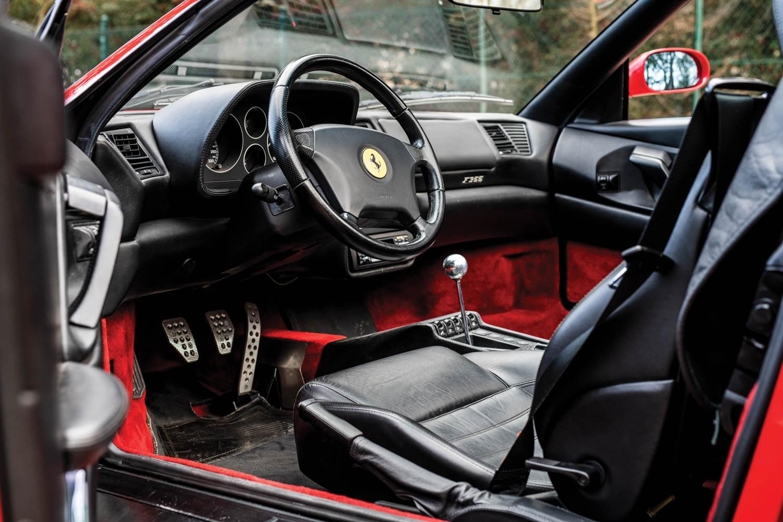 1997 Ferrari F355 Spider interior