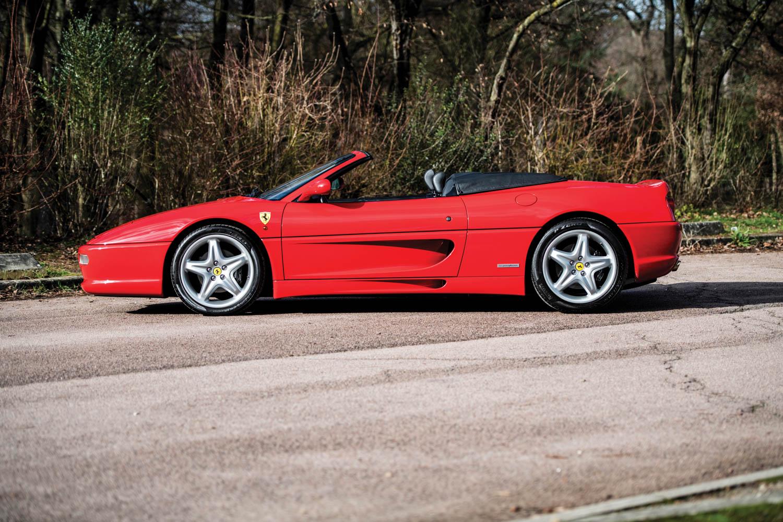 1997 Ferrari F355 Spider profile