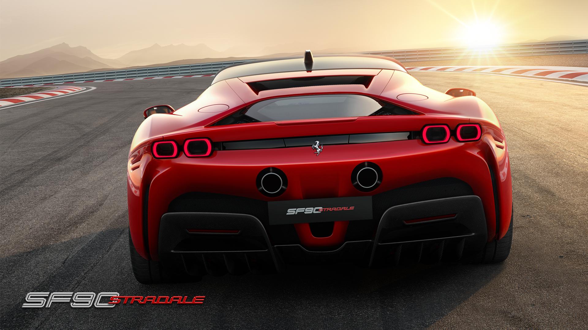 Ferrari SF90 Stradale rear